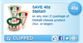 Stella Cheese Product. (4oz. Or Larger) Coupon