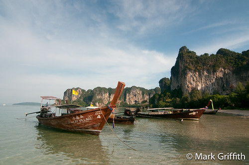 Long Boats at Railay