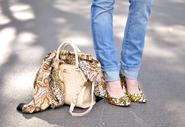 gold shoes - dolce and gabbana shoes diy