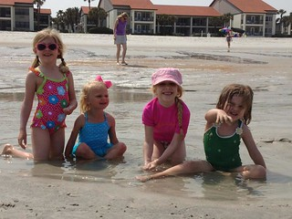 Cousins on the beach!