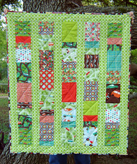 Cars Quilt Front View