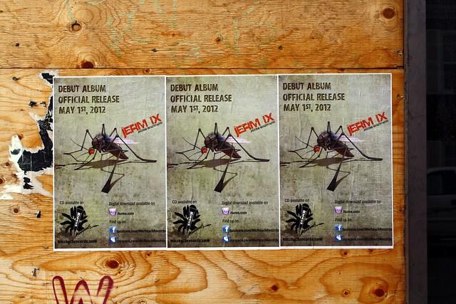 Jerm Warfare album promo posters