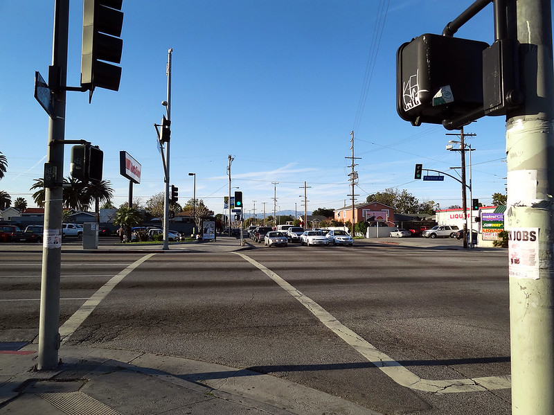 Florence Ave & Normandie Ave