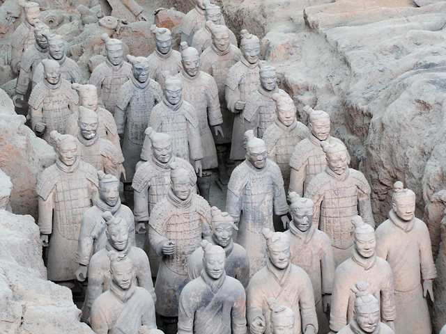 Pit 1, Museum of Terracotta Army, Xi'an, China (3)