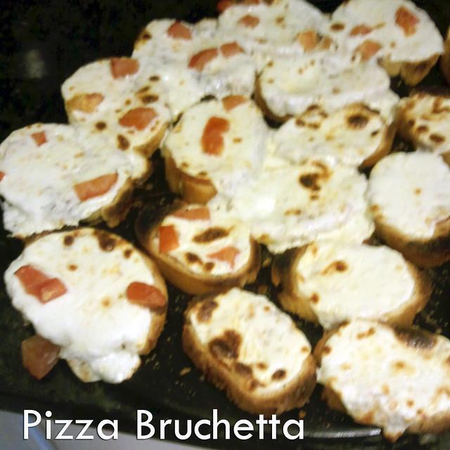Pizza Bruchetta