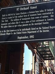 Tenement Museum, Lower East Side