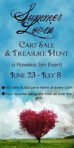 Flawless Summer Lovin' Cart Sale_Treasure Hunt 2012 POSTER