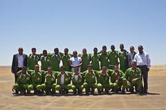 The Western Saharwi football team.