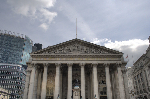 Front of the Royal Exchange