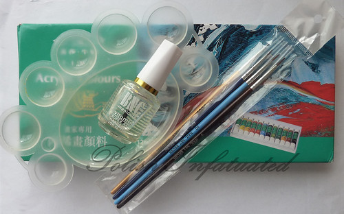 acrylic paint set1