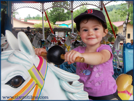 Like your mama, you love carousels.