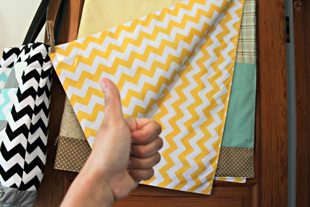 Riley Blake Designs Chevron Laminate = LOVE it!!