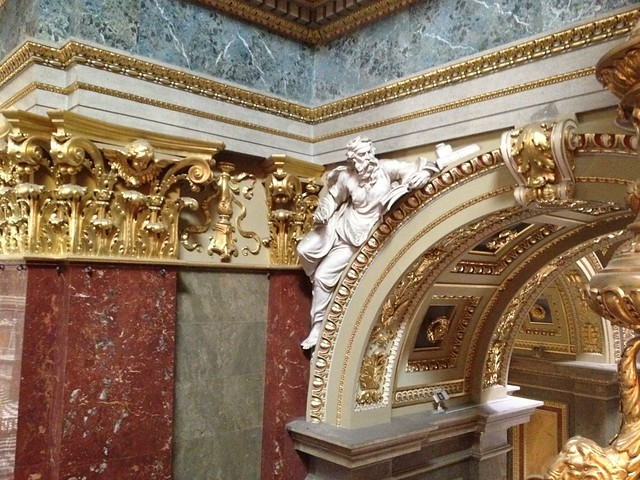 Detail of the decoration in St. Stephen's Basilica