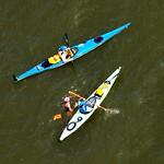 8 Bridges Hudson River Marathon Swim 2012 - Stage 6: Tappan Zee Bridge to George Washington Bridge