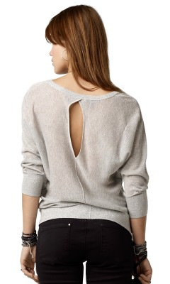 Marcelle Metallic Sweater $69+30%