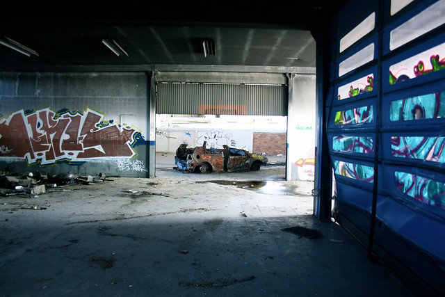 Shooting garage abandonné