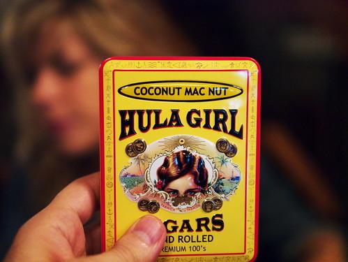 tiki - hula girl