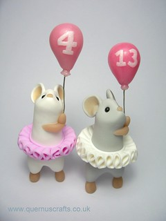 Birthday Balloon Mice