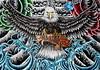 Eagle Tattoo 2012 acrylic painting