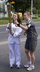 Olympic Torch Relay Day 54