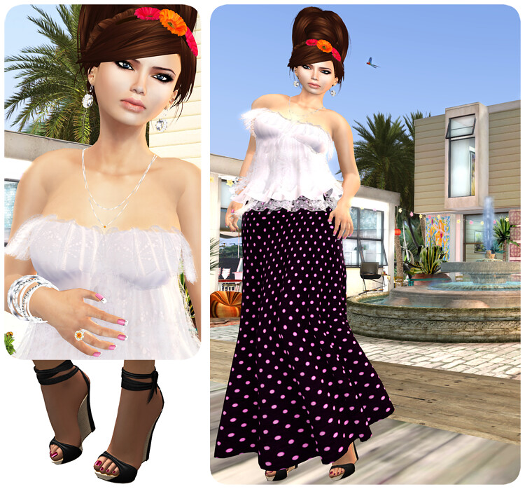 Summer 2 - One Voice Skin-Sandals-Pose