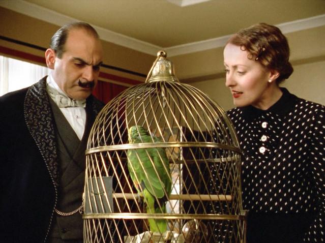 Poirot_MsLemon_DisappearanceDavenheim_parrot