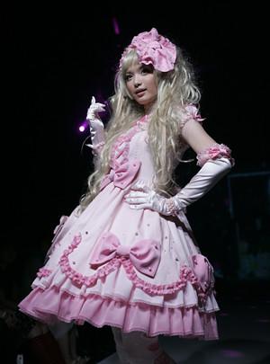 pink sweet lolita dress