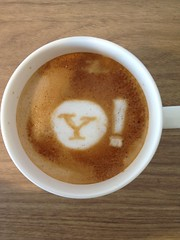 Today's latte, Yahoo!