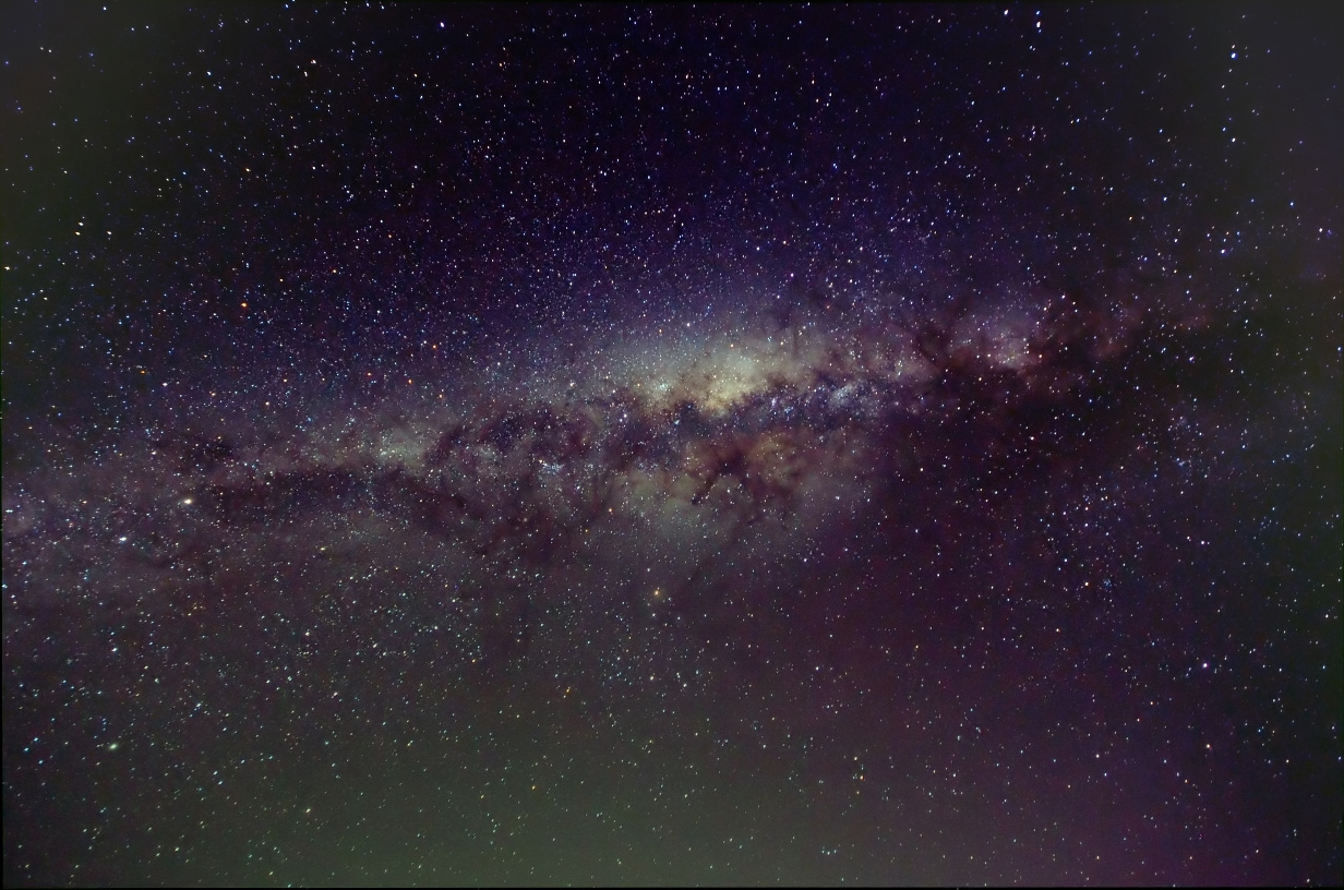 how to see the milky way in melbourne