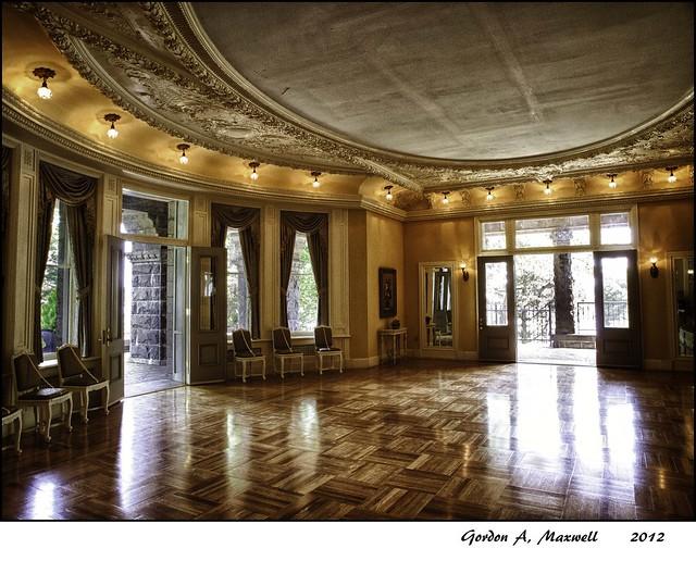 Boldt Castle Ballroom