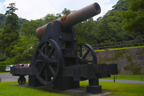 鉄製150ポンド砲・反射炉跡