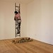 L'artista fugge dalle macerie, 2011 (Installazione Galleria-Galleria 2012)_1