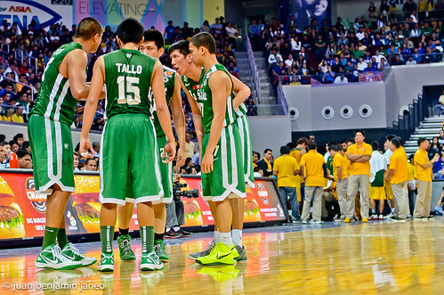 UAAP Season 75: FEU Tamaraws vs. DLSU Green Archers, July 22