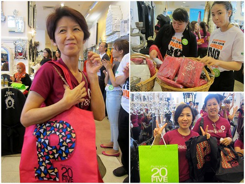 CapitalFM Diva's Day Out - 09 World Vision Parkson tote bags