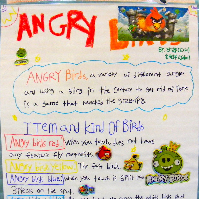 Angry Birds and Engrish