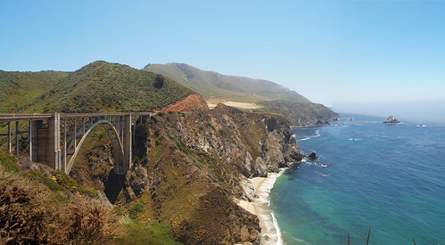 Bixby Creek Bridge | P7210177 Panorama