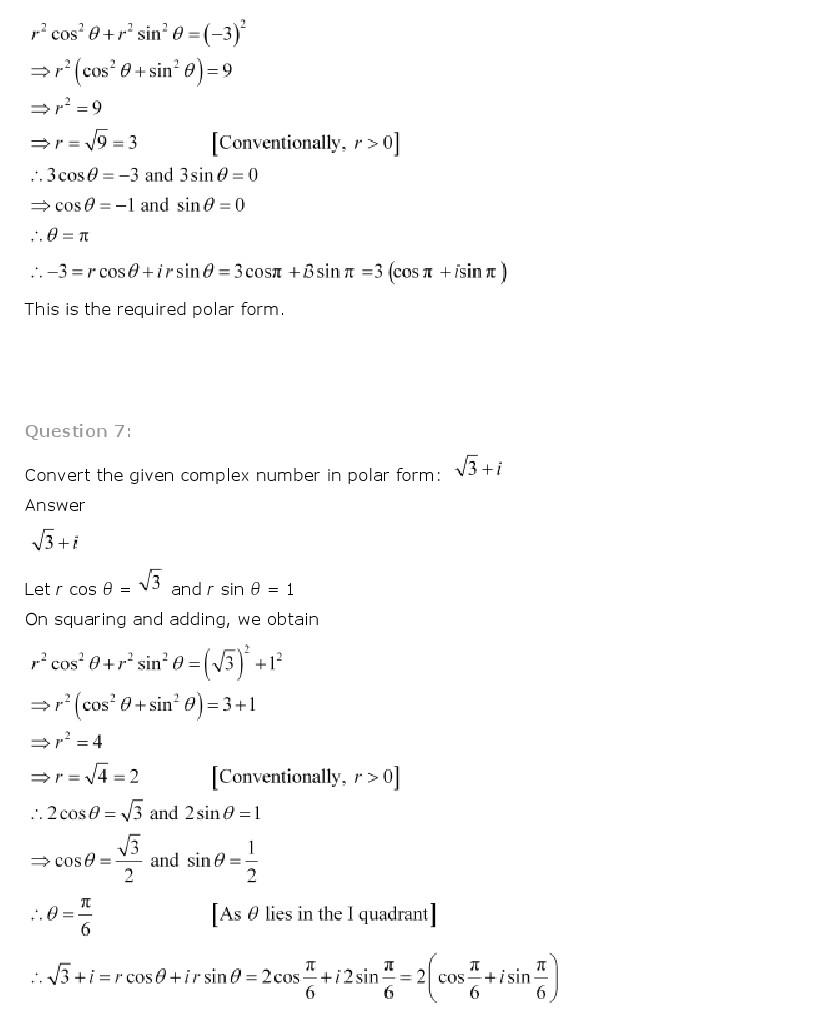 Ncert solutions for class 11th maths chapter 5 complex numbers class 11th maths chapter 5 complex numbers and quadratic equations ncert solution is given below falaconquin