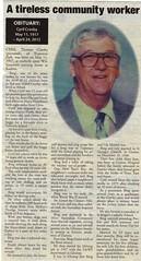 Cyril Crosby, obituary 2012