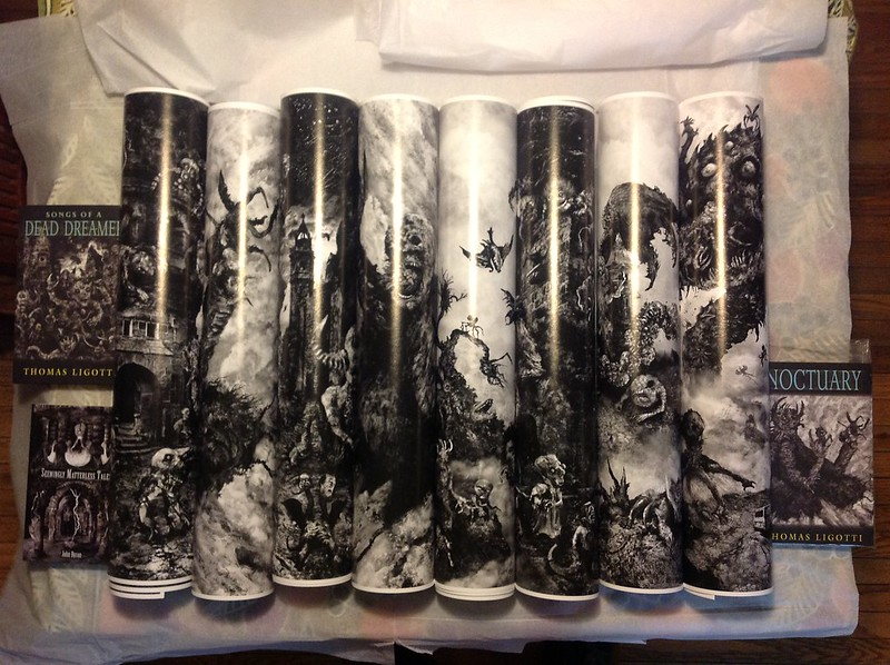 Aeron Alfrey - Art Prints Prior To Packaging.