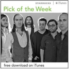 Starbucks iTunes Pick of the Week - 7/31/2012 - thenewno2 - Timezone