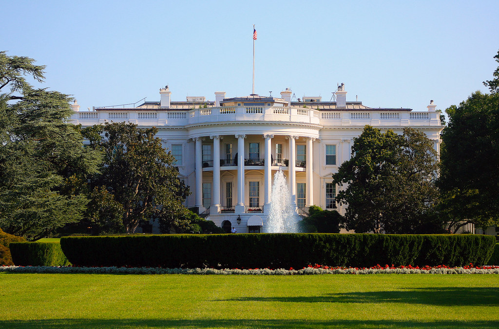 White House by flickr user Trevor Mcgoldrick