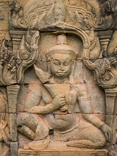Image of  Terrace of the Leper King. cambodia siemreap angkor