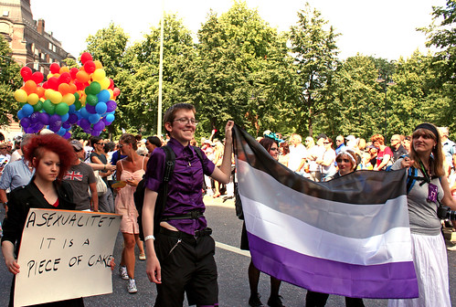 Asexual network at Stockholm Pride