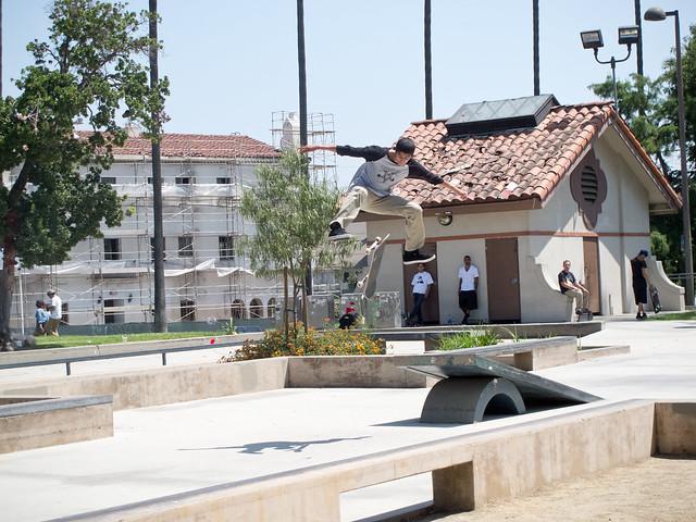 Knox Hardware x Quiet Life BBQ Skatepark Tour @ Hollenbeck Skate Plaza