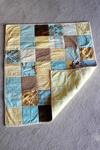 Zoe's newborn blanket