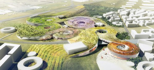 Europa City - город будущего во Франции