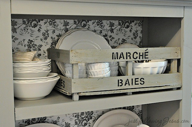 gray shelf and white ironstone 5.jpg