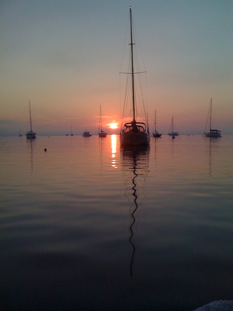 Mimi Rose in Rockland at Sunrise, 2011