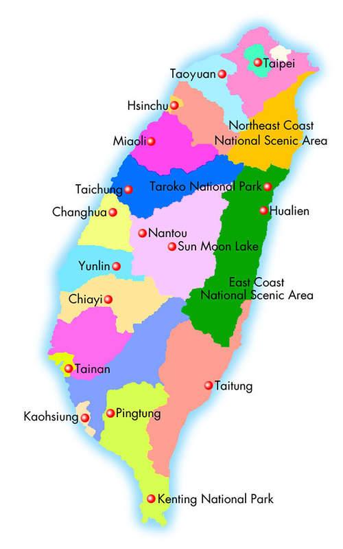 Cities in Taiwan