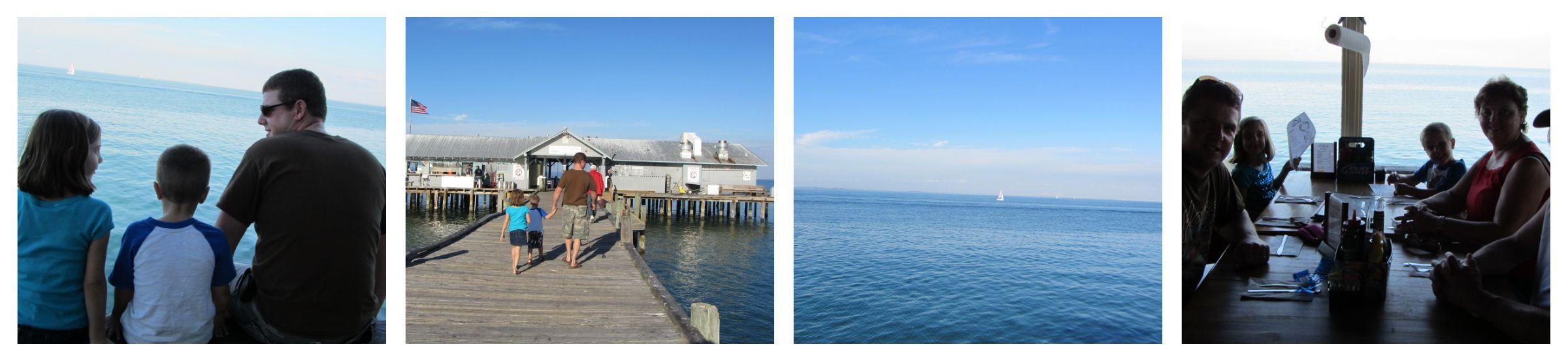 Pier restaurant Anna Maria Island